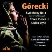 Gorecki : Symphonie n� 3 - 3 pi�ces en style ancien. Simonov.