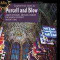 Purcell, Blow : Solos et Duos pour contreténor. Bowman, Chance, King's Consort, King.