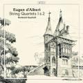 Eugen d'Albert : Int�grale des quatuors � cordes. Quatuor Reinhold.