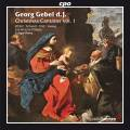 Georg Gebel II : Cantates de Noël, vol. 1. Winter, Schwarz, Post, Vieweg, Rémy.