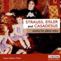 Strauss, Eisler, Casadesus : �uvres pour piano. Colburn.