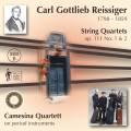Reissiger : Quatuors � cordes, op. 111. Quatuor Camesina.