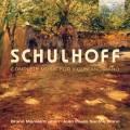 Erwin Schulhoff : Intrégrale de la musique pour violon et piano. Monteiro, Santos.