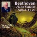 Beethoven : Sonates pour piano n° 3, 4 & 27. Richter