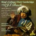 King's College Choir Cambridge chante Bach. Willcocks.