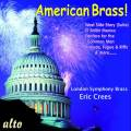 American Brass! Copland, Bernstein, Barber, Ives, Cowell : Œuvres pour ensemble de cuivres. Crees.