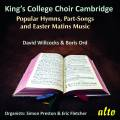 King's College Choir : Hymnes, chansons et mâtines de Pâques. Willcocks, Ord.