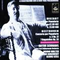 Mozart, Beethoven : Concertos pour piano. Schnabel, Wlater, Rodzinsky, Szell.