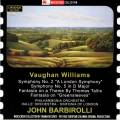 Sir John Barbirolli dirige Vaughan Williams.