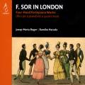 F. Sor in London. Œuvres piano 4 mains. Roger, Harada.